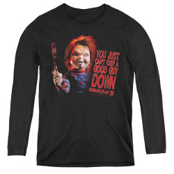 Image for Child's Play Women's Long Sleeve T-Shirt - Good Guy