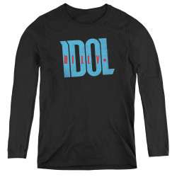 Image for Billy Idol Women's Long Sleeve T-Shirt - Logo