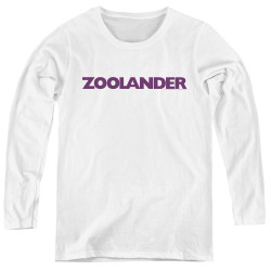 Image for Zoolander Women's Long Sleeve T-Shirt - Logo