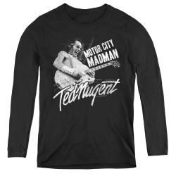 Image for Ted Nugent Women's Long Sleeve T-Shirt - Madman