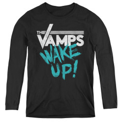 Image for The Vamps Women's Long Sleeve T-Shirt - Wake Up
