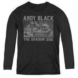 Image for Andy Black Women's Long Sleeve T-Shirt - The Shadow Side