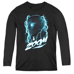 Image for The Flash TV Women's Long Sleeve T-Shirt - Zoom