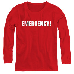Image for Emergency Women's Long Sleeve T-Shirt - Logo