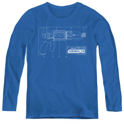 Image for Warehouse 13 Women's Long Sleeve T-Shirt - Tesla Gun