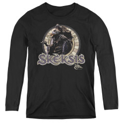 Image for The Dark Crystal Women's Long Sleeve T-Shirt Skeksis Circle