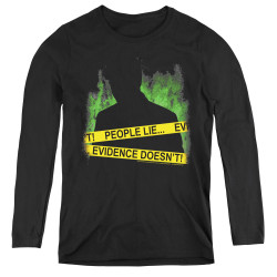 Image for CSI Miami Women's Long Sleeve T-Shirt - People Lie