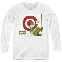 Image for Beetle Bailey Women's Long Sleeve T-Shirt - Target Nap