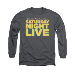 Image for Saturday Night Live Long Sleeve T-Shirt - Live From New York