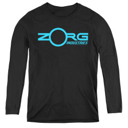 Image for The Fifth Element Women's Long Sleeve T-Shirt - Zorg Logo