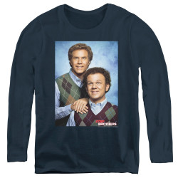 Image for Step Brothers Women's Long Sleeve T-Shirt - The Portrait