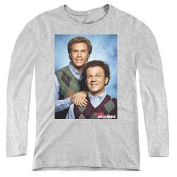 Image for Step Brothers Women's Long Sleeve T-Shirt - Brother Portrait
