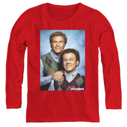 Image for Step Brothers Women's Long Sleeve T-Shirt - Family Portrait
