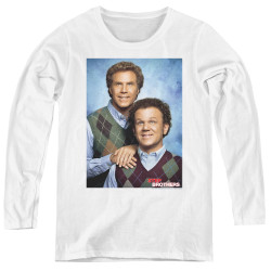 Image for Step Brothers Women's Long Sleeve T-Shirt - The Bros