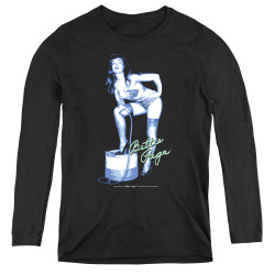 Image for Bettie Page Women's Long Sleeve T-Shirt - Mistress