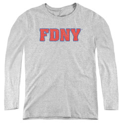 Image for New York City Women's Long Sleeve T-Shirt - FD NY
