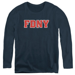 Image for New York City Women's Long Sleeve T-Shirt - Classic FDNY