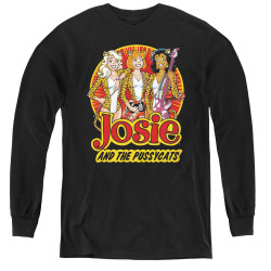 Image for Josie and the Pussycats Power Trio Youth Long Sleeve T-Shirt
