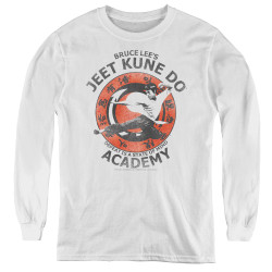 Image for Bruce Lee Youth Long Sleeve T-Shirt - Jeet Kune Do