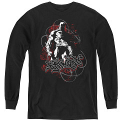 Image for Batman Youth Long Sleeve T-Shirt - Urban Gotham