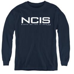 Image for NCIS Logo Youth Long Sleeve T-Shirt