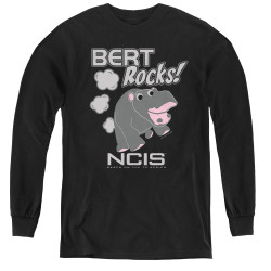 Image for NCIS Bert Rocks! Youth Long Sleeve T-Shirt