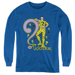 Image for The Riddler Youth Long Sleeve T-Shirt