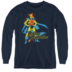 Image for Martian Manhunter Youth Long Sleeve T-Shirt