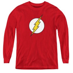 Image for Flash Logo Youth Long Sleeve T-Shirt