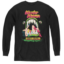 Image for Wonder Woman the Jaws of the Leviathan Youth Long Sleeve T-Shirt