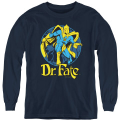 Image for Dr. Fate Ankh Youth Long Sleeve T-Shirt