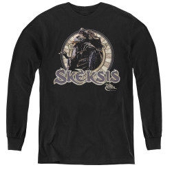 Image for The Dark Crystal Youth Long Sleeve T-Shirt - Skeksis Circle