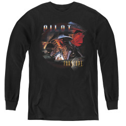 Image for Farscape Pilot Youth Long Sleeve T-Shirt