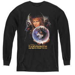 Image for Labyrinth Youth Long Sleeve T-Shirt - I Have a Gift