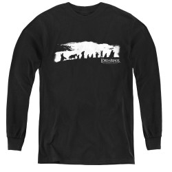 Image for Lord of the Rings Youth Long Sleeve T-Shirt -the Fellowship