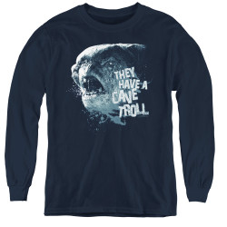 Image for Lord of the Rings Youth Long Sleeve T-Shirt -They Have a Cave Troll