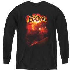 Image for Lord of the Rings Youth Long Sleeve T-Shirt -Balrog