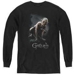 Image for Lord of the Rings Youth Long Sleeve T-Shirt -Gollum