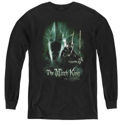 Image for Lord of the Rings Youth Long Sleeve T-Shirt -the Witch King of Angmar