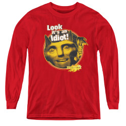 Image for MirrorMask Youth Long Sleeve T-Shirt - Riddle Me This