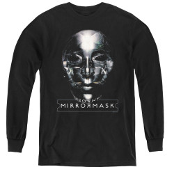 Image for MirrorMask Youth Long Sleeve T-Shirt - Mask