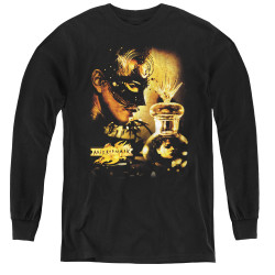 Image for MirrorMask Youth Long Sleeve T-Shirt - Trapped