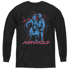Image for Airwolf Graphic Youth Long Sleeve T-Shirt