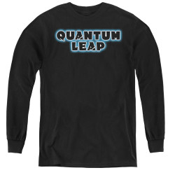 Image for Quantum Leap Logo Youth Long Sleeve T-Shirt