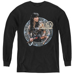 Image for Xena Warrior Princess the Warrior Youth Long Sleeve T-Shirt