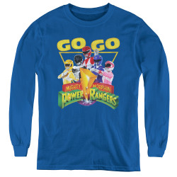Image for Power Rangers Youth Long Sleeve T-Shirt - Go Go