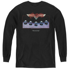 Image for Aerosmith Youth Long Sleeve T-Shirt - Rocks