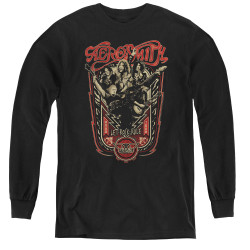 Image for Aerosmith Youth Long Sleeve T-Shirt - Let Rock Rule