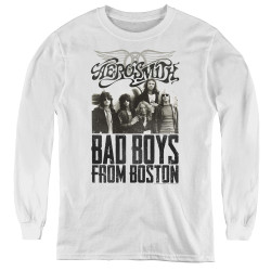 Image for Aerosmith Youth Long Sleeve T-Shirt - Bad Boys