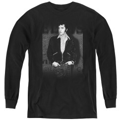 Image for Elvis Youth Long Sleeve T-Shirt - Just Cool